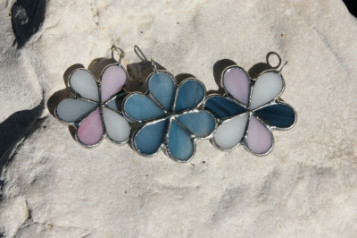 necklaces - historical glass