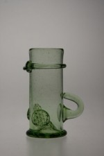 Shot Glass with an ear - 12 - historical glass