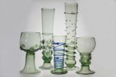 Romer round - 21 - historical glass