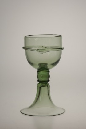Goblet Courtesan Veronica Franco - 18 - historical glass