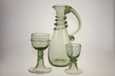 Goblet Courtesan Veronica Franco - 18 - historical glass