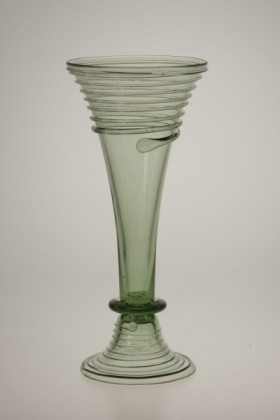 Conical goblet from Opava - 15 - historical glass