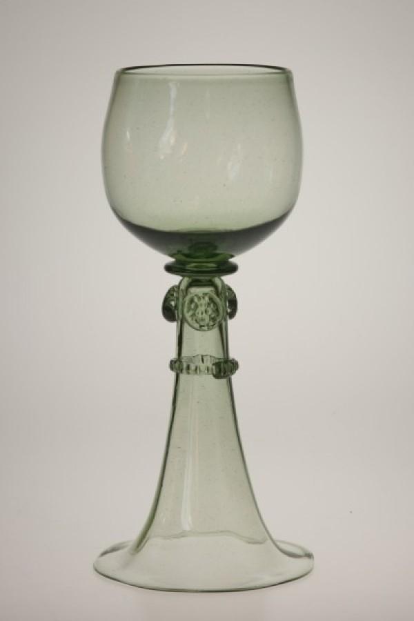 Wedding goblet - SV - historical glass