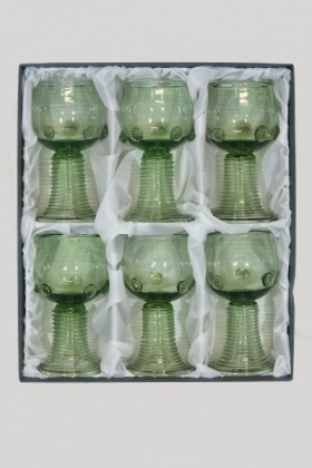 Set - 6 pcs of Roman - D-6x21 - historical glass