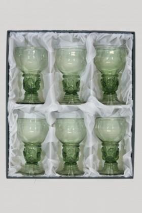Set - 6 pcs of Romer II - D-6x42 - historical glass
