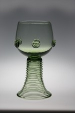 Gift package - 2 goblets  Romer round - D-2x21 - historical glass
