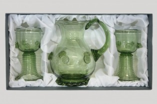 Set -Pitcher and Romer straight - D-35+2x05 - historical glass
