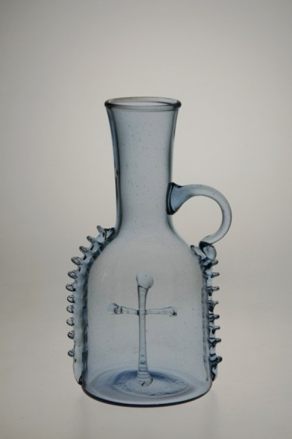 Small bottle blue - 880M - historical glass