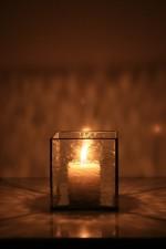 candlestick - historical glass