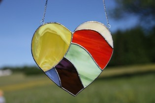 heart2 - historical glass