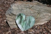 heart - historical glass