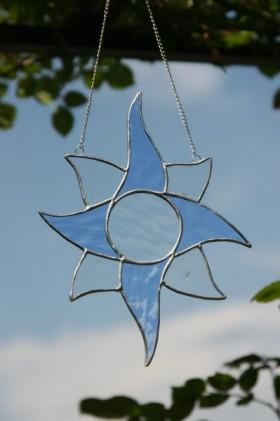 sun - historical glass
