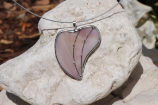 jewel heart purple2 - historical glass