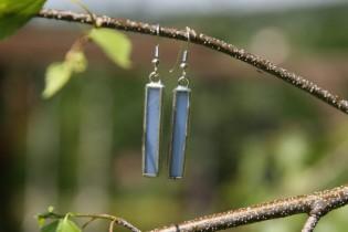earrings sky long - historical glass