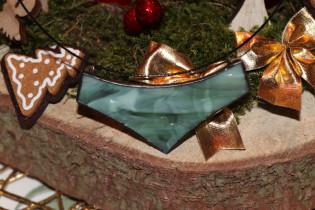 jewel big green - historical glass