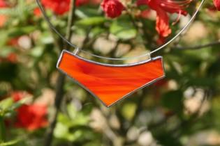 jewel big red - historical glass