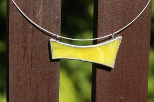 jewel sun yellow - historical glass