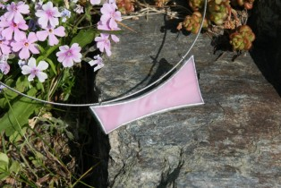 jewel pink - historical glass