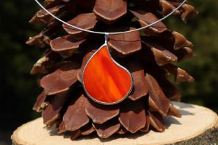 jewel drop of fire2 - historical glass