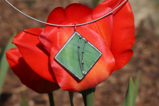 jewel green - historical glass