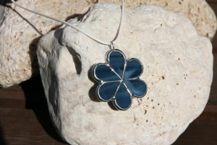 jewel flower from the sea - historical glass
