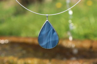 jewel drop from the sea - historical glass