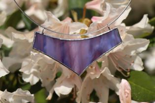 jewel big lila - historical glass