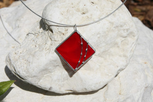 jewel red - historical glass