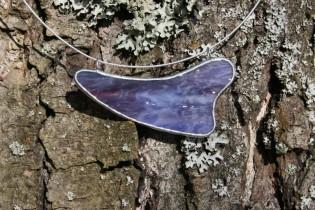 jewel purple - historical glass