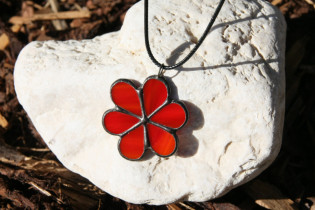 jewel flower - historical glass