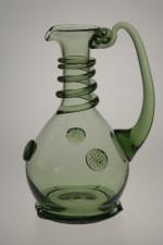 Set - 6 pcs of Wedding goblets - D-3x74+3x66 - historical glass
