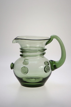 Pitcher small - 43 - historical glass