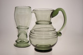 Pitcher with spin - 67 - historical glass