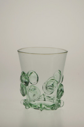 Paper cup with decals - 803 - historical glass