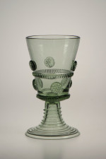 Gift package - 2 goblets Romer straight - D-2x05 - historical glass