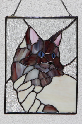 Ragdoll - historical glass